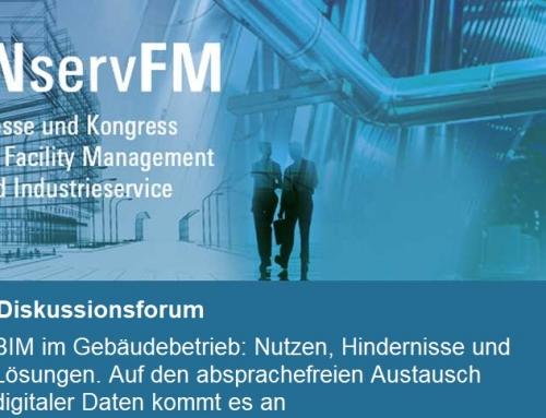 BIM-Diskussionsrunde anlässlich des Messeforums | INservFM 2018 | Frankfurt