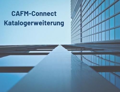 Vorschlag auf Erweiterung des  CAFM-Connect-Katalogs