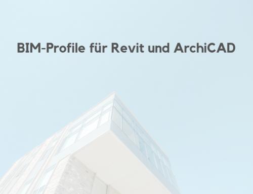 BIM-Profile in Revit und ArchiCAD einbinden